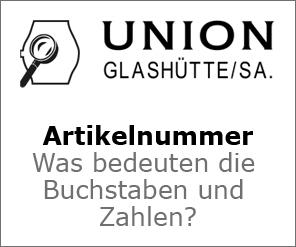 Union Artikelnummer