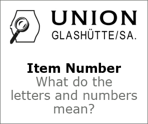 Union Item Number